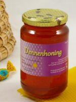 Imkerij de Werkbij Dennenhoning 250 gr.