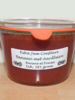 Van Woerkom Banaan Aardbeienjam 385 gr.