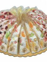 Nougat taart fruit assorti