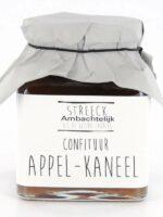 Ambachtelijke confituren Appel Kaneel